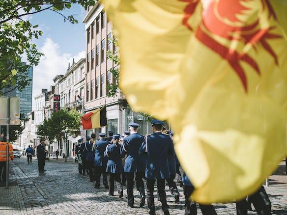 Les fêtes de Wallonie à Charleroi